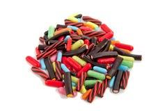 kolorowy cukierku kopiec Zdjęcia Royalty Free