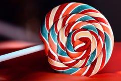 kolorowy cukierku lizak Obraz Stock