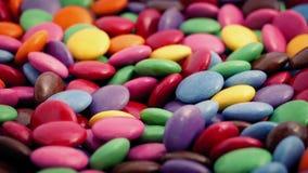 Kolorowy Czekoladowych cukierków Wirować zdjęcie wideo