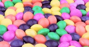 Kolorowy Czekoladowych cukierk?w Wirowa? knedle t?a jedzenie mi?sa bardzo wiele zbiory wideo