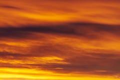 Kolorowy Czerwony nieba tło Zdjęcie Stock