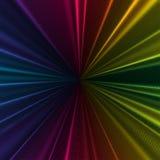 Kolorowy 3d tło z abstrakt fala, linie Jaskrawe kolor krzywy, zawijas Ruchu projekt Colourful wektor Fotografia Royalty Free