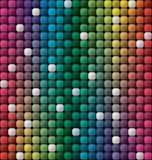 Kolorowy dachówkowy mozaiki tło Obrazy Royalty Free