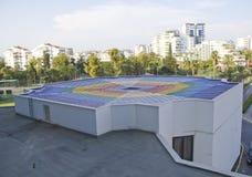 Kolorowy dach Fotografia Royalty Free