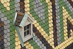 Kolorowy dach st stephens katedralni obraz royalty free