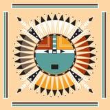 Kolorowy dekoracyjny etniczny wzór Obrazy Stock