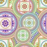 kolorowy deseniowy bezszwowy Zdjęcia Stock
