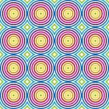 kolorowy deseniowy bezszwowy wektor Obraz Royalty Free