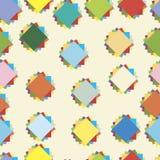 kolorowy deseniowy bezszwowy Wektor deseniowa ilustracja Obraz Royalty Free