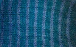 Kolorowy deseniowy ow wełny ręcznie robiony skarpety Naturalna odzież Zdjęcie Royalty Free