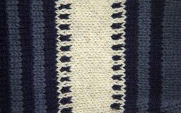 Kolorowy deseniowy ow wełny ręcznie robiony skarpety Naturalna odzież Obrazy Royalty Free