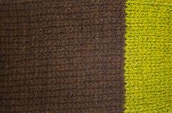 Kolorowy deseniowy ow wełny ręcznie robiony skarpety Naturalna odzież Fotografia Royalty Free