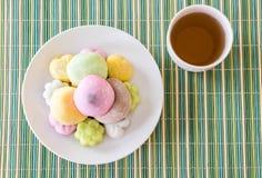 kolorowy deserowy mochi Zdjęcie Stock