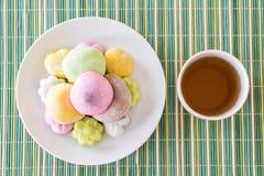 kolorowy deserowy mochi Zdjęcie Royalty Free