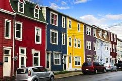 kolorowy domów John s st Fotografia Royalty Free