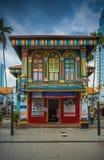Kolorowy dom Dębny Teng Niah fotografia royalty free