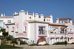 kolorowy domowy mieszkaniowy Fotografia Stock