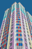 kolorowy domowy mieszkaniowy Zdjęcie Stock