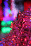 Kolorowy DOWODZONY tło w przyjęciu zdjęcia royalty free