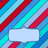 Kolorowy drewniany tło z copyspace. + EPS8 Fotografia Stock