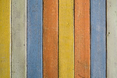 Kolorowy drewniany wzór zdjęcie stock