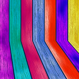 Kolorowy drewniany z copyspace. + EPS8 Zdjęcie Royalty Free