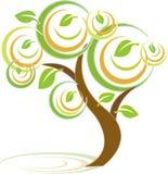 kolorowy drzewo Obrazy Stock