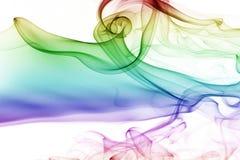 Kolorowy dym obrazy stock