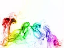 kolorowy dym Zdjęcia Royalty Free