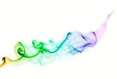 Kolorowy dym dla tła Obrazy Stock