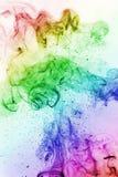 Kolorowy dym joss kij Zdjęcie Stock