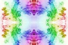 Kolorowy dym joss kij Obraz Royalty Free