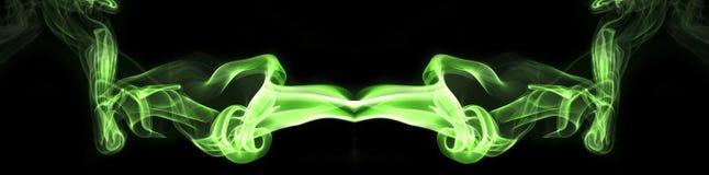 Kolorowy dym joss kij Fotografia Stock