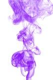 Kolorowy dym odizolowywający na Białym tle Obraz Royalty Free