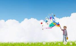 Kolorowy dzieciństwo Obrazy Stock