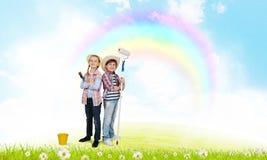 Kolorowy dzieciństwo Fotografia Royalty Free