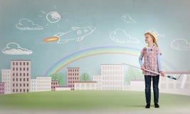 Kolorowy dzieciństwo Zdjęcie Stock
