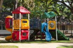 Kolorowy dziecka boisko. zdjęcia royalty free