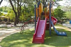 Kolorowy dziecka boisko. zdjęcie royalty free