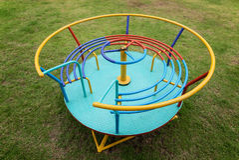 Kolorowy dziecka carousel Zdjęcie Royalty Free