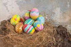 kolorowy Easter jajka set Obraz Stock