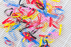 Kolorowy elastyczny Obrazy Royalty Free