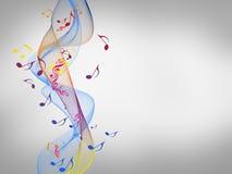 Kolorowy elegancki na abstrakcjonistycznym tle ilustracji