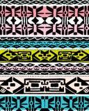 Kolorowy etniczny projekt Obrazy Royalty Free