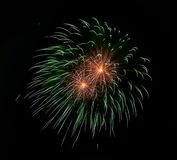 Kolorowy fajerwerku tło Uczta czas szczęśliwego nowego roku, tła kolorowy pojęcia szczęście pisze list biel Kreatywnie sztuka Abs Zdjęcie Stock