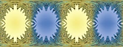 Kolorowy falisty tło z miejscami dla wizerunku Zdjęcia Stock