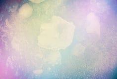 Kolorowy fantazja lód Zdjęcie Royalty Free