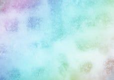Kolorowy fantazja lód Fotografia Royalty Free