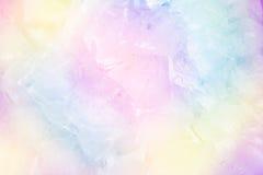 Kolorowy fantazja lód Obrazy Stock