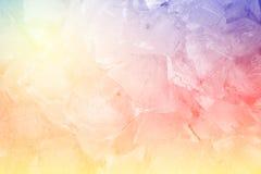 Kolorowy fantazja lód Obraz Stock